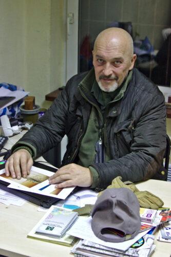 George Tuka, fondateur de Narodnyï Tyl
